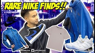 NIKE CLEARANCE SHOPPING!! WHAT DID WE FIND?