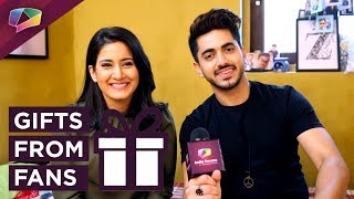 Zain Imam And Aditi Rathore Aka Neil And Avni Receive Gifts from Their Fans | Naamkaran