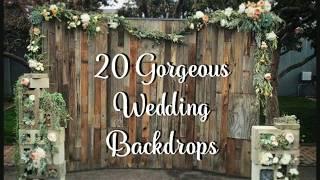 Download Lagu 20 Wedding Backdrop Ideas! Gratis STAFABAND