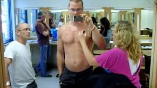 Body double for scott adkins (deadpool) in the movie Wolverine