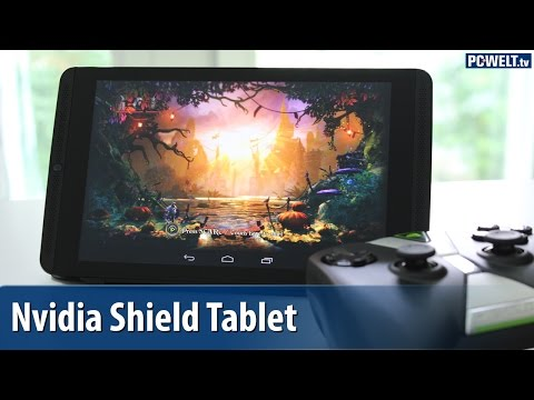 Nvidia Shield Tablet - Gaming-Tablet im Test | deutsch / german