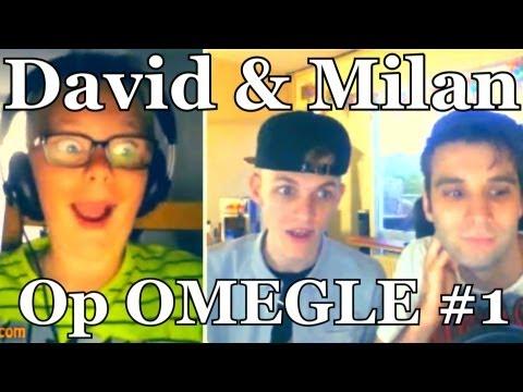 OMEGLE met FANS - David en Milan #1