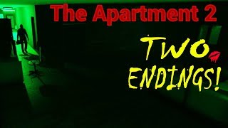 ALTERNATE ENDING! The Apartment 2 | Indie Horror Games | PC Gameplay Walkthrough | Commentary 2018