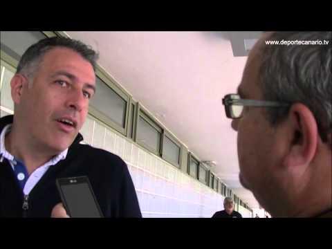 Comentario post partido de Israel Quintana, entrenador de la UD Villa Santa Brígida 10 4 2016