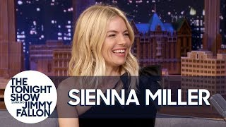 Sienna Miller Schools Jimmy on Philadelphia Accents