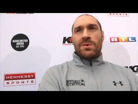 TYSON FURY TALKS 'BORING' KLITSCHKO, PRICE, DEPRESSION, PIERS MORGAN & SAYS  'ALL ATHLETES ON DRUGS'
