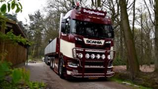 Van Duijghuijzen New SCANIA S730 + V8 Sound