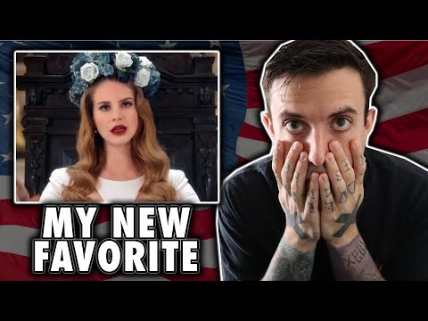 Lana Del Rey - Born To Die Official Video REACTION/REVIEW