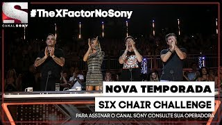 #TheXFactorNoSony - Six Chair Challenge