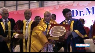 Dr. MGR Educational and Research Institute University CONVOCATION ON MARCH  2016