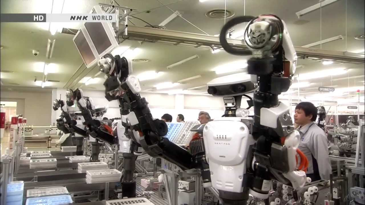 Honda Of Boston >> Robot Revolution, will machines surpass humans (2013-05-04) Full HD 1080P - YouTube