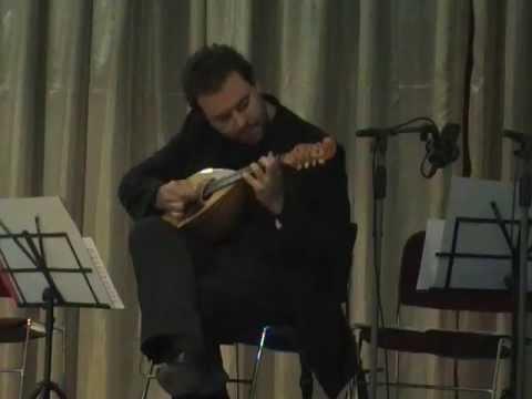 2° Preludio di Calace -Tiziano Palladino solo mandolin live