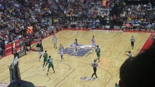 NBA summer league [UNLV] Las Vegas 2017 Lakers vs Celtics