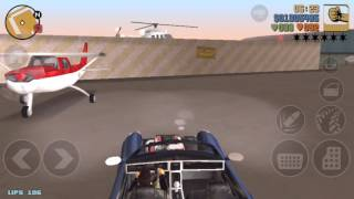 Where to find an airplane in GTA 3