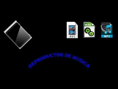 como crear un reproductor de musica 2013- Personalizado a tu gusto