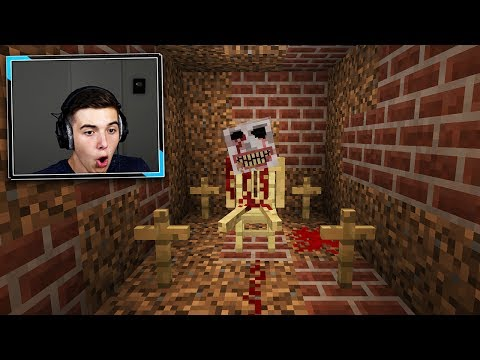 The SCARIEST MINECRAFT MAP EVER... (THIS IS NOT CLICKBAIT)