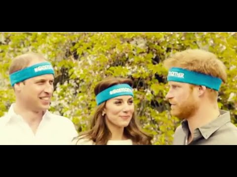 Kate Middleton, Prince William & Harry Don Headbands to Promote Mental Health