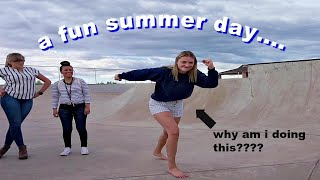 day in the life: last day of summer edition!