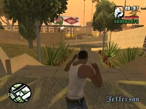 Gta San Andreas Ps2 Gameplay Gta San Andreas Gameplay
