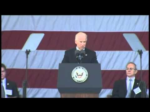 Vice Presidents Tribute To Boston Victims