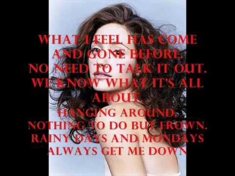 Emmy Rossum - Rainy Days and Mondays