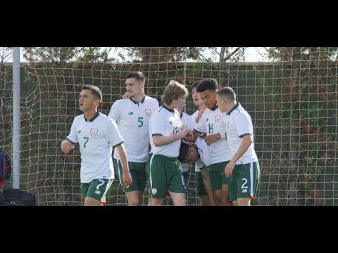 HIGHLIGHTS: Belgium U18 1-2 Ireland U18