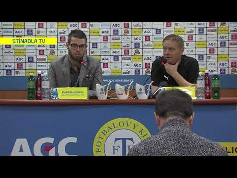 Tisková konference domácího týmu po utkání Teplice - Olomouc (15.2.2020)