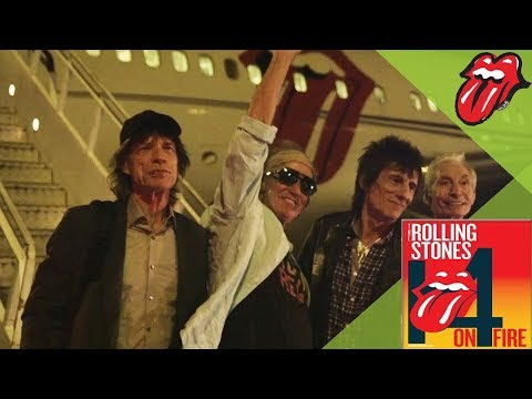 The Rolling Stones have landed in Australia!