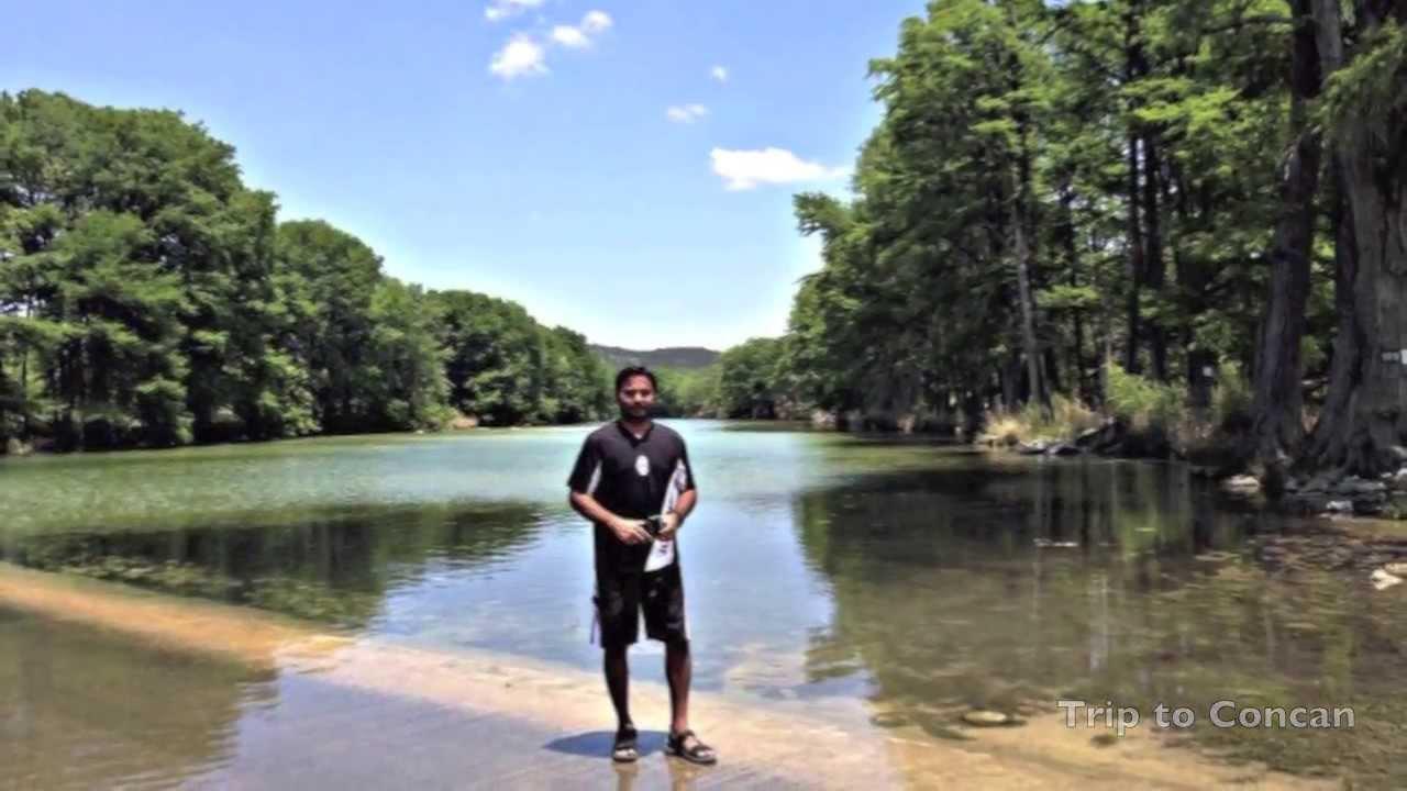 Frio River Concan Texas Youtube