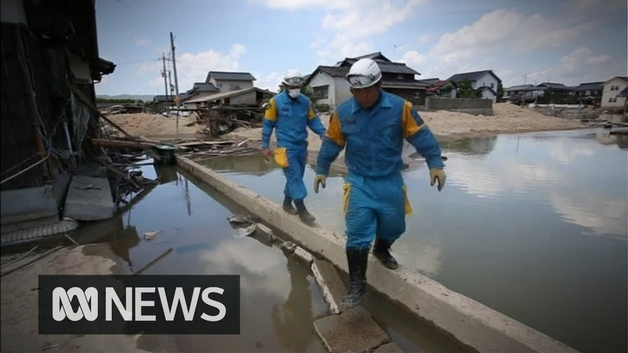 Japan floods: Death toll climbs above 150
