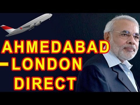 Narendra Modi announced London-Ahmedabad direct flight