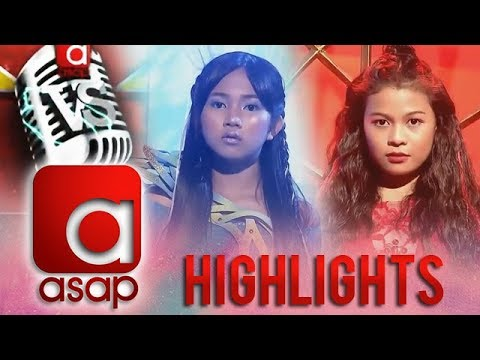ASAP Versus: Voice versus Voice! Jona Marie and Lyca's sing-off that will blow you away!