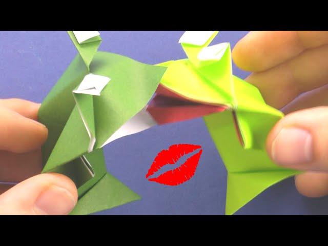www origami instructions com origami frog html