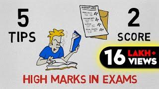 5 secret STUDY TIPS TO score HIGH IN EXAMS (HINDI)  - HIM-EESH AND SEEKEN