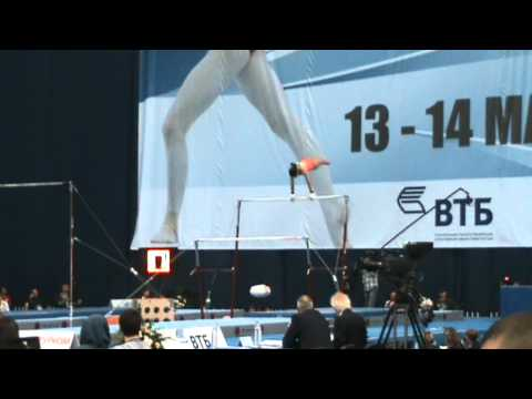 Jessica Lopez (VEN) Bars EF  World Stars FIG World Cup Moscow