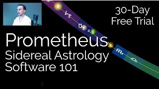 Prometheus Sidereal Astrology Software 101 - Free 30-Day Trial