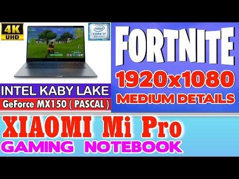Xiaomi Notebook Pro Fortnite - 256 SSD/Intel Core i7-8550U/16GB RAM/GeForce MX150 2GB