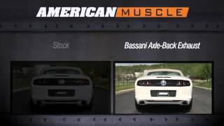 Mustang Bassani Axle-Back Exhaust (11-13 V6) Review