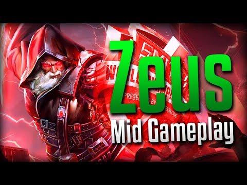 Smite: A Little Rusty...- Zeus Mid Gameplay