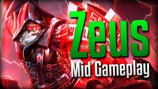 Smite: A Little Rusty...- Zeus Mid Gameplay