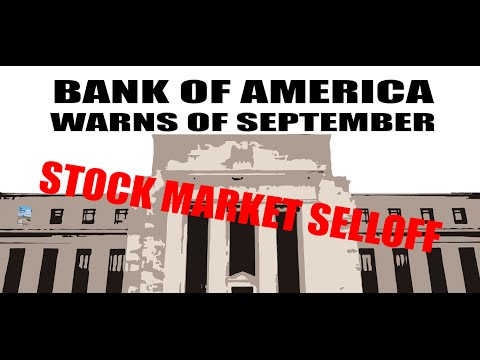 Bank Warns of STOCK MARKET SELLOFF After Fed Meeting!