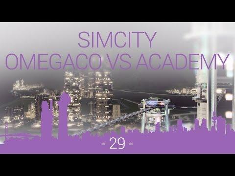 SimCity - OmegaCo vs Academy - EP29 - space centre construction