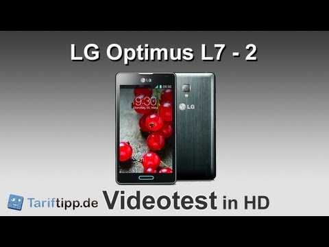 LG Optimus L7 - 2   Test in deutsch (HD)