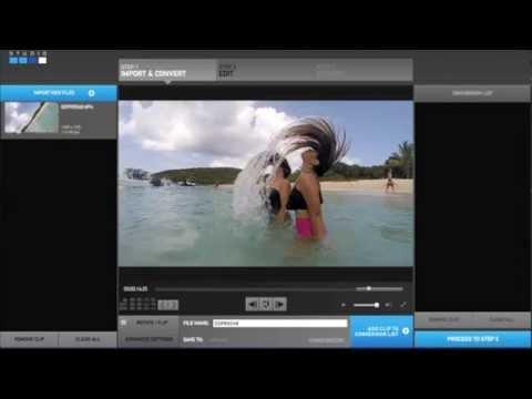 Como hacer cámara lenta - GoPro Studio 2.0 español
