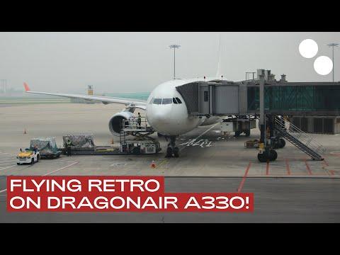 DRAGONAIR A330-300 ECONOMY CLASS KA909