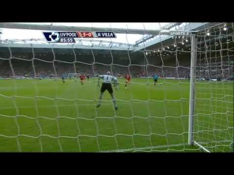 Rafael Benitez's Action when Liverpool made goals againts Aston Villa.avi