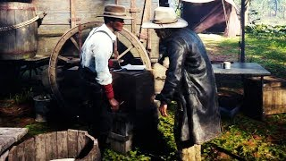 Lenny Summers Gets Threatening by Micah Bell RDR2