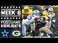 Cowboys vs. Packers | NFL Week 6 Game Highlights MP3