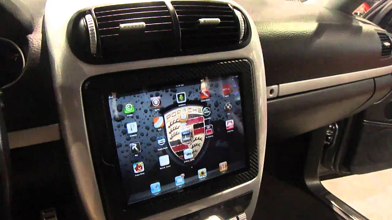 Best Ipad 2 Install Into Car Motorized Sbn 2011 Porsche
