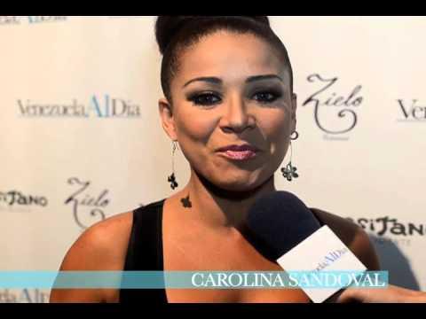 Carolina Sandoval presente en el 1er Aniversario de Venezuela Al Día